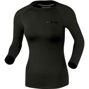 Womens Speed Long Sleeve Top (Black/Pearl Grey)