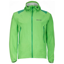 Mens Crux Waterproof Jacket (Citrus Green)