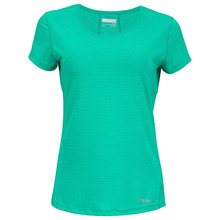 Womens Essential Short Sleeve Top (Gem Green)