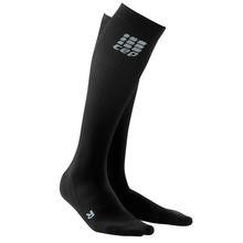 Womens Progressive Run 2.0 Socks (Black/Black)