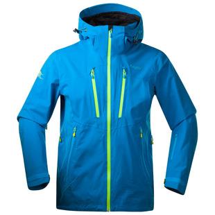 Mens Trolltind Jacket (Light Sea Blue/Neon Green)