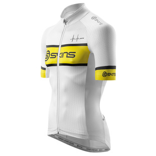 Mens Short Sleeve Team Cycle Jersey (White)