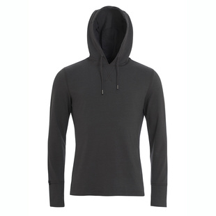 Mens The Ascent Lightweight Hoodie (Thunder Grey)