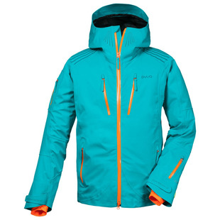 Mens Backyard Jacket (Deep Lake Green/Orange)