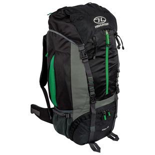 Starav 85L Rucksack (Black/Green)