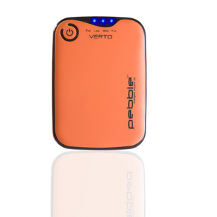 Verto Portable Battery Back Up Power 3700mah (Orange)