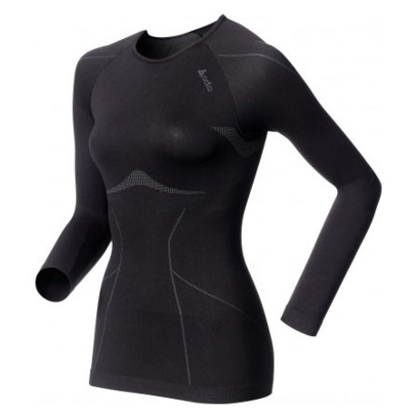 Womens Evolution Light Long Sleeve Top (Black)