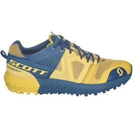 Scott Womens Kinabalu Power Running Shoes (Yellow/Blue) | Sportpursuit