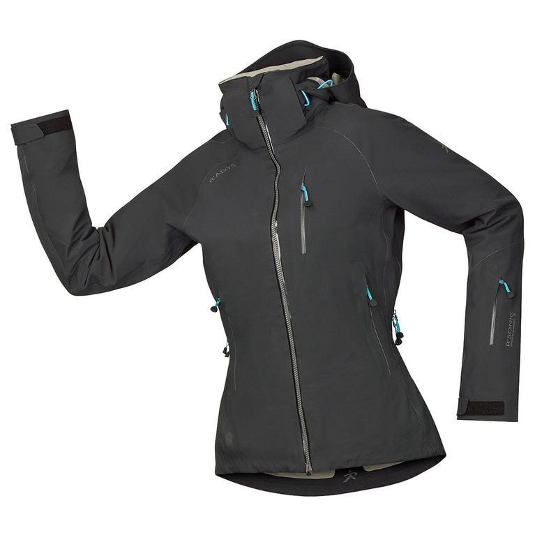 Womens R1 Tech Jacket (Black)