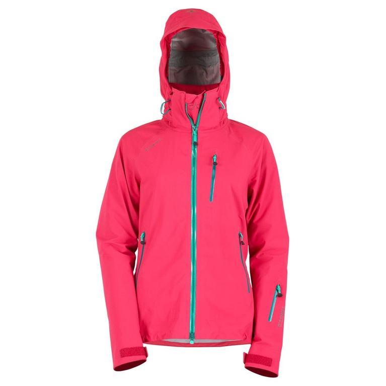 Womens R1 Tech Jacket (Cranberry)