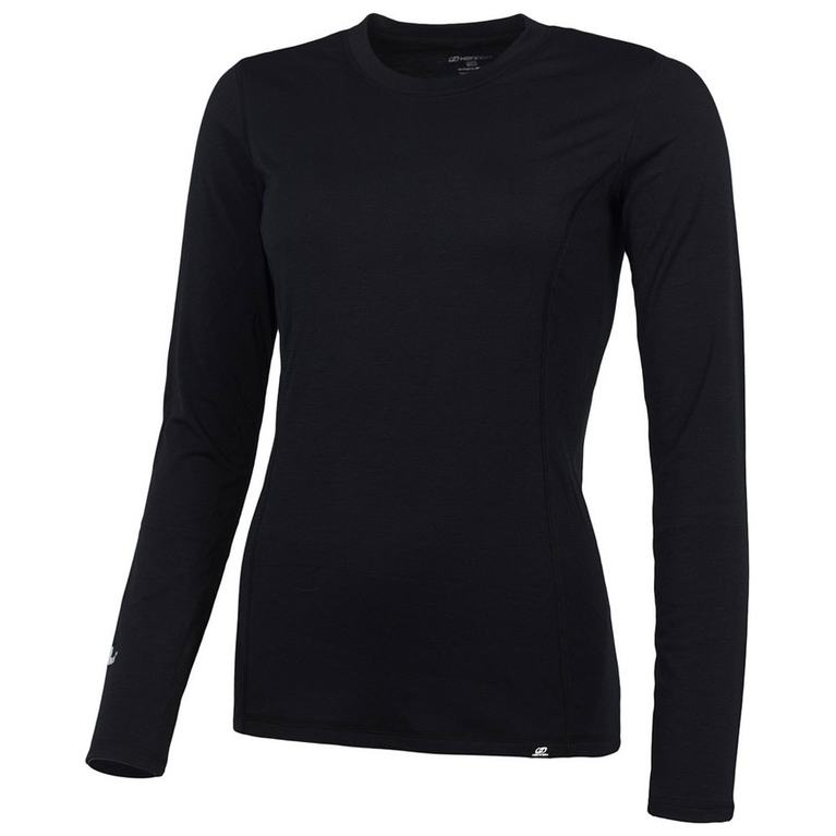 Womens Cottonet 14 Long Sleeve Top (Anthracite)