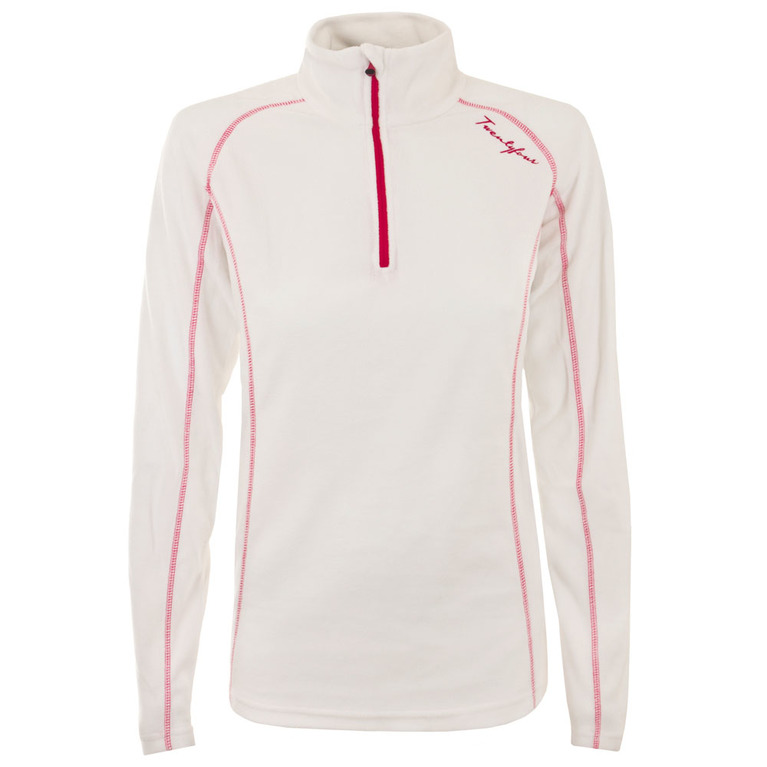 Womens Ifjord Microfleece Pullover (White)