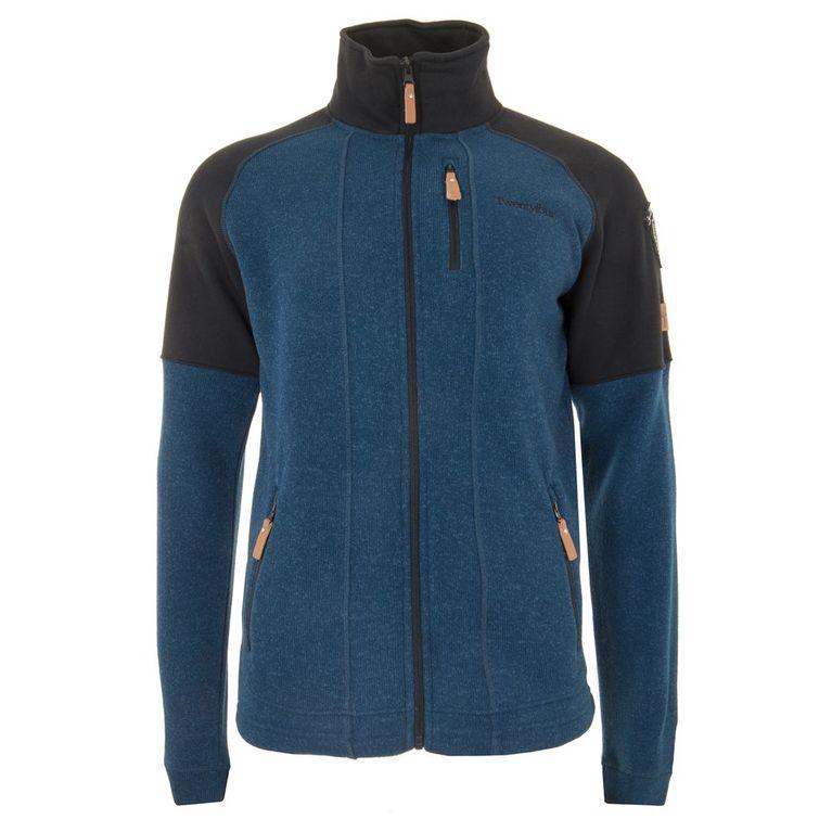 Mens Finse Fleece Jacket (Moroccan Blue)