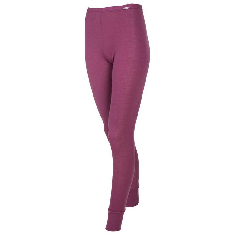 Womens Designwool Tights (Purple)
