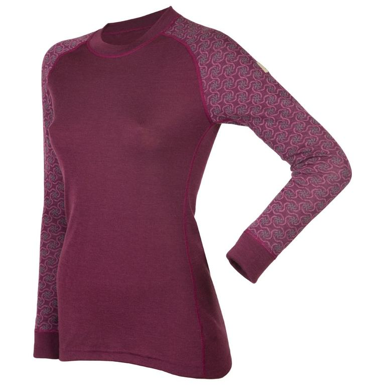 Designwool Long Sleeve Top (Purple)