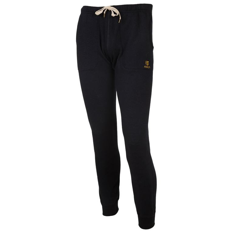 Mens Designwool Trousers (Black)