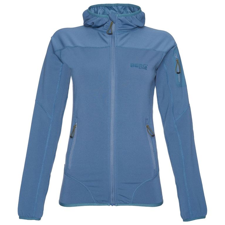 Womens Dhaulagiri Fleece Jacket (Blue)