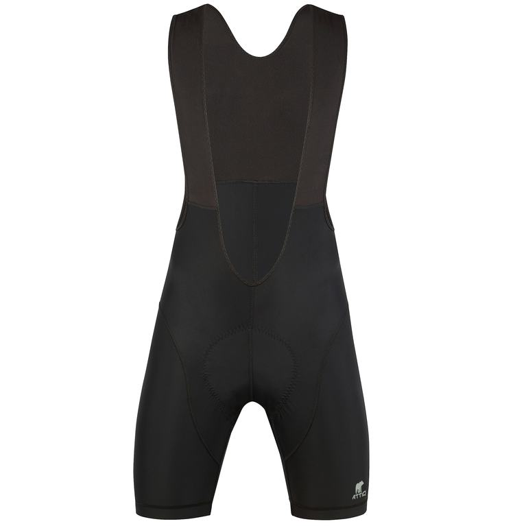 Mens Basic Bib Shorts (Black)