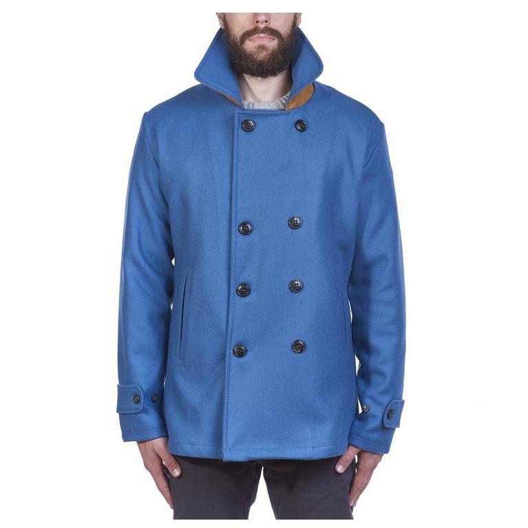 Mens Pentile Merino Wool Jacket (Petrol)