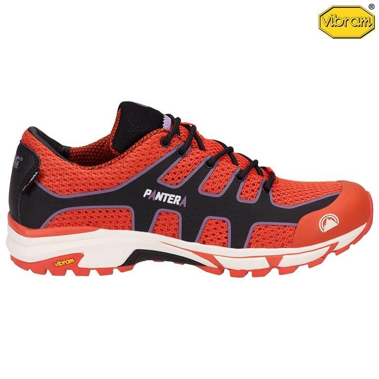 Mens Pantera Trail Running Shoes (Orange)