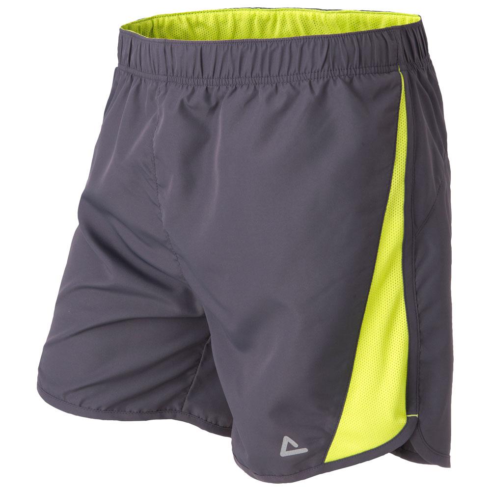 Mens Stratum Shorts (Ebony Grey)