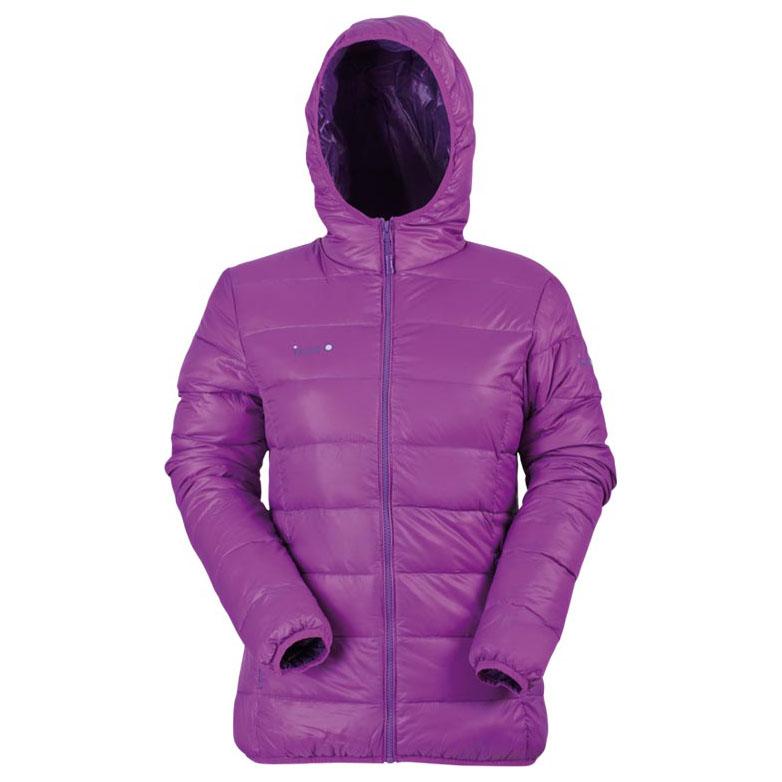 Womens Donja Down Jacket (Purple/Dark Purple)