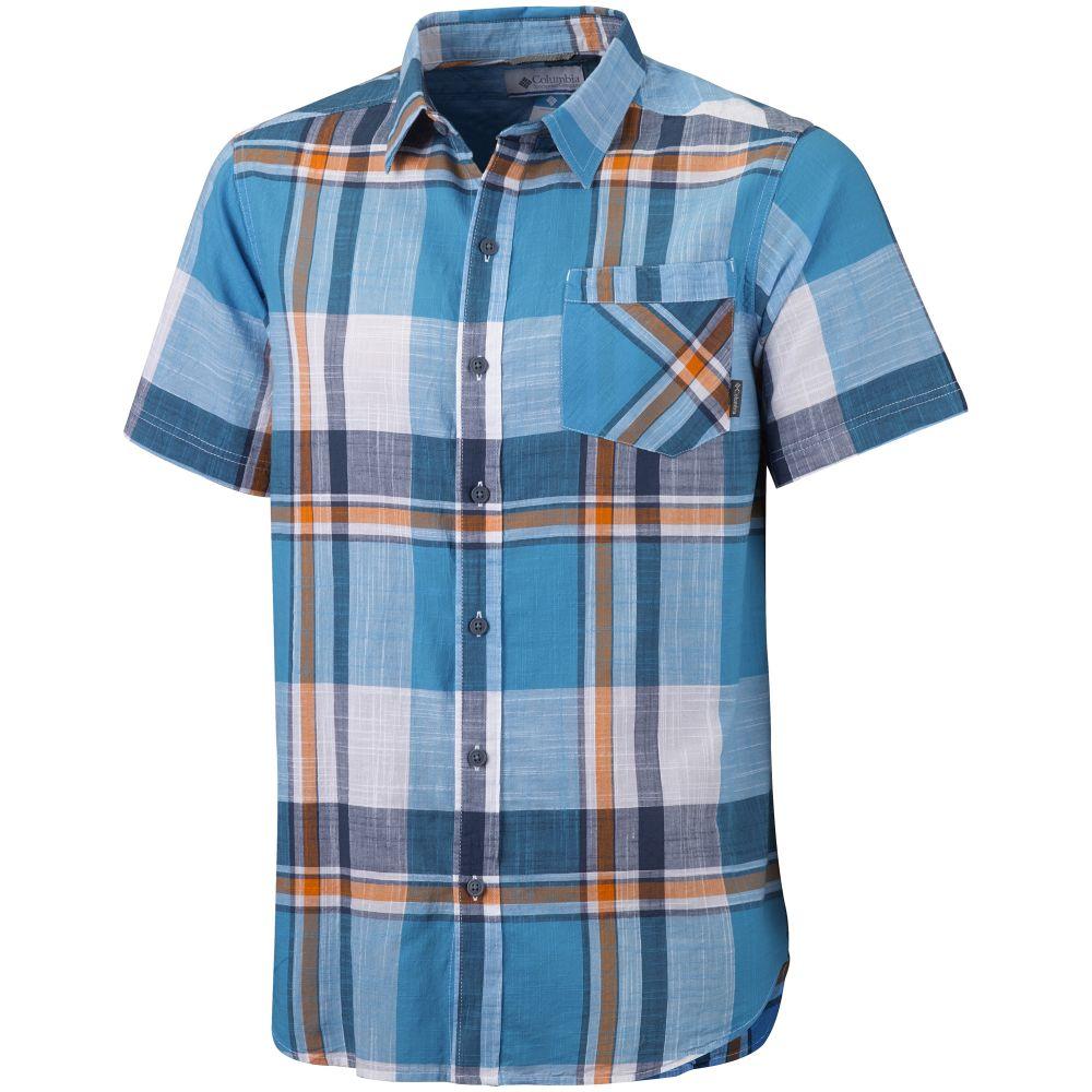 Mens Katchor II Short Sleeve Shirt (Riptide Plaid)