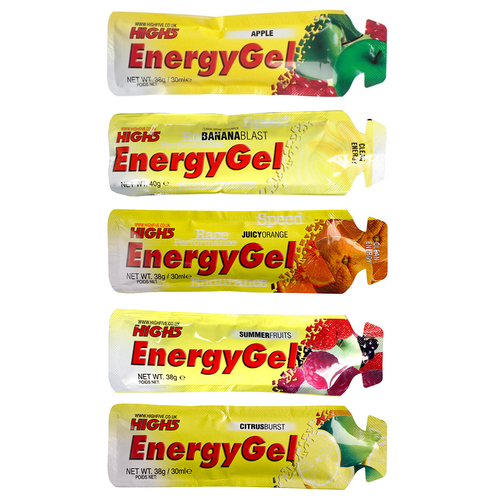 Energy Gel (20 x 38g - Choice of Flavours)