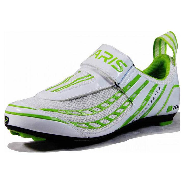 Mens Equilibrium Tri Shoes (White/Green)