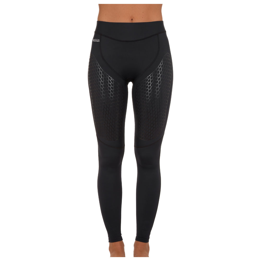 Womens Ultimate Body Support Tights (Black)