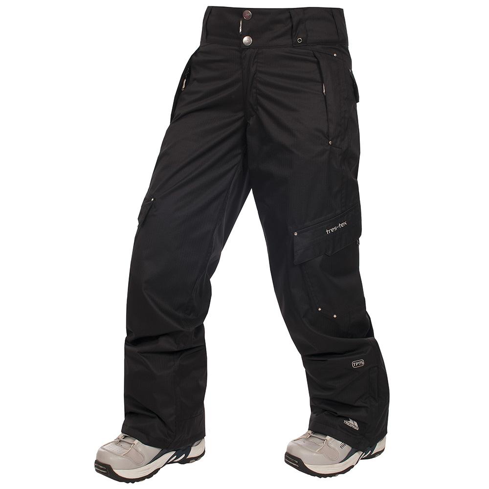 Womens Jilt Trousers (Black Herringbone)
