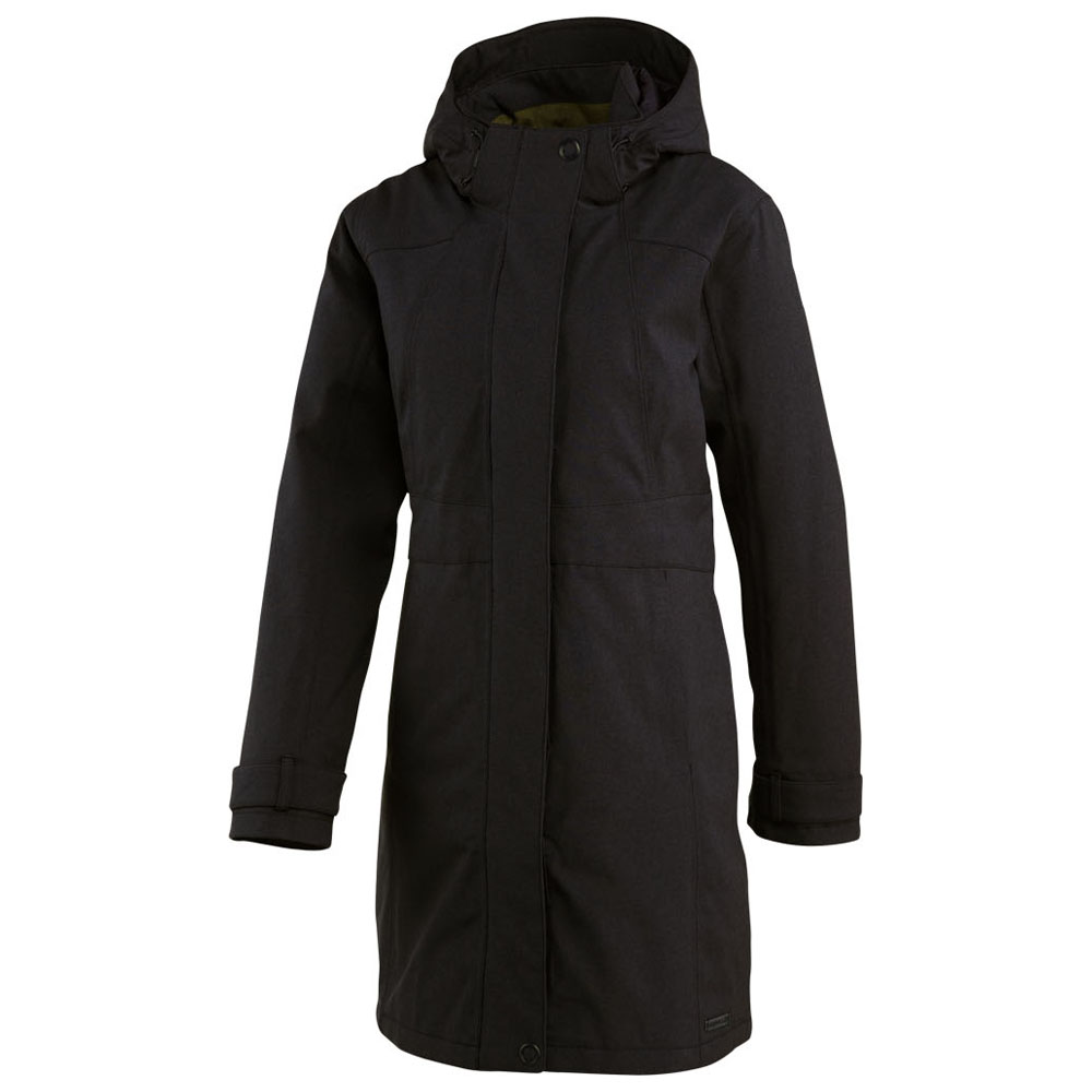 Womens Ellenwood Insulated Parka (Black)