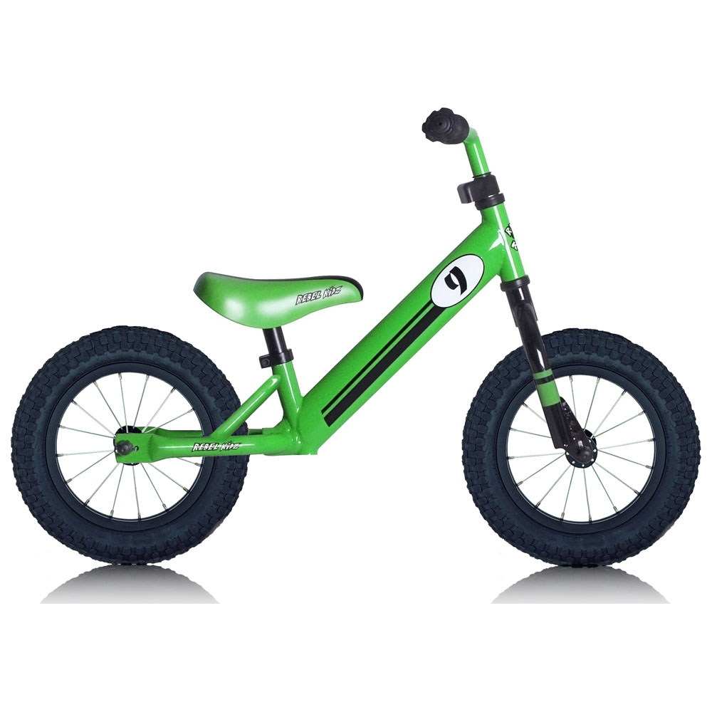 Kids Steel Balance Bike (Green)