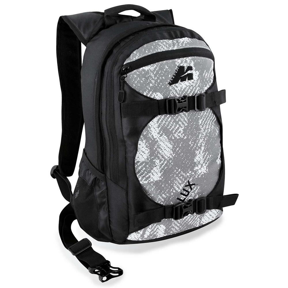 Lux Backpack 22 Lt (Black/White)