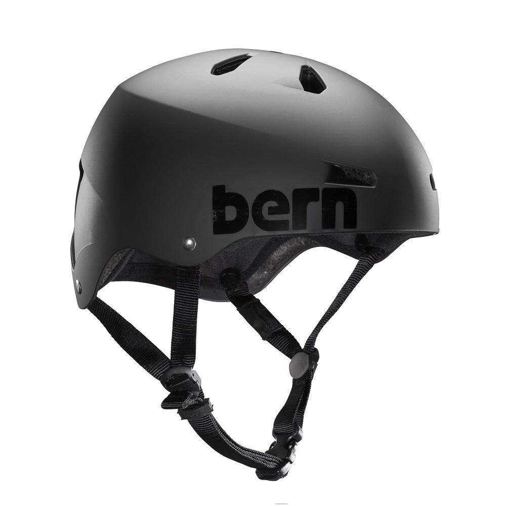 Mens Macon EPS Helmet (Satin Black)