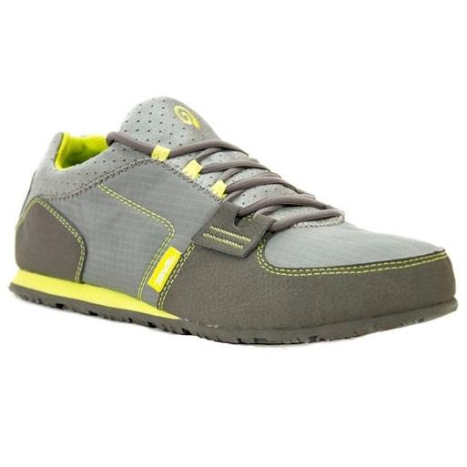Mens Mush Frio Lace Textile Shoe (Grey)