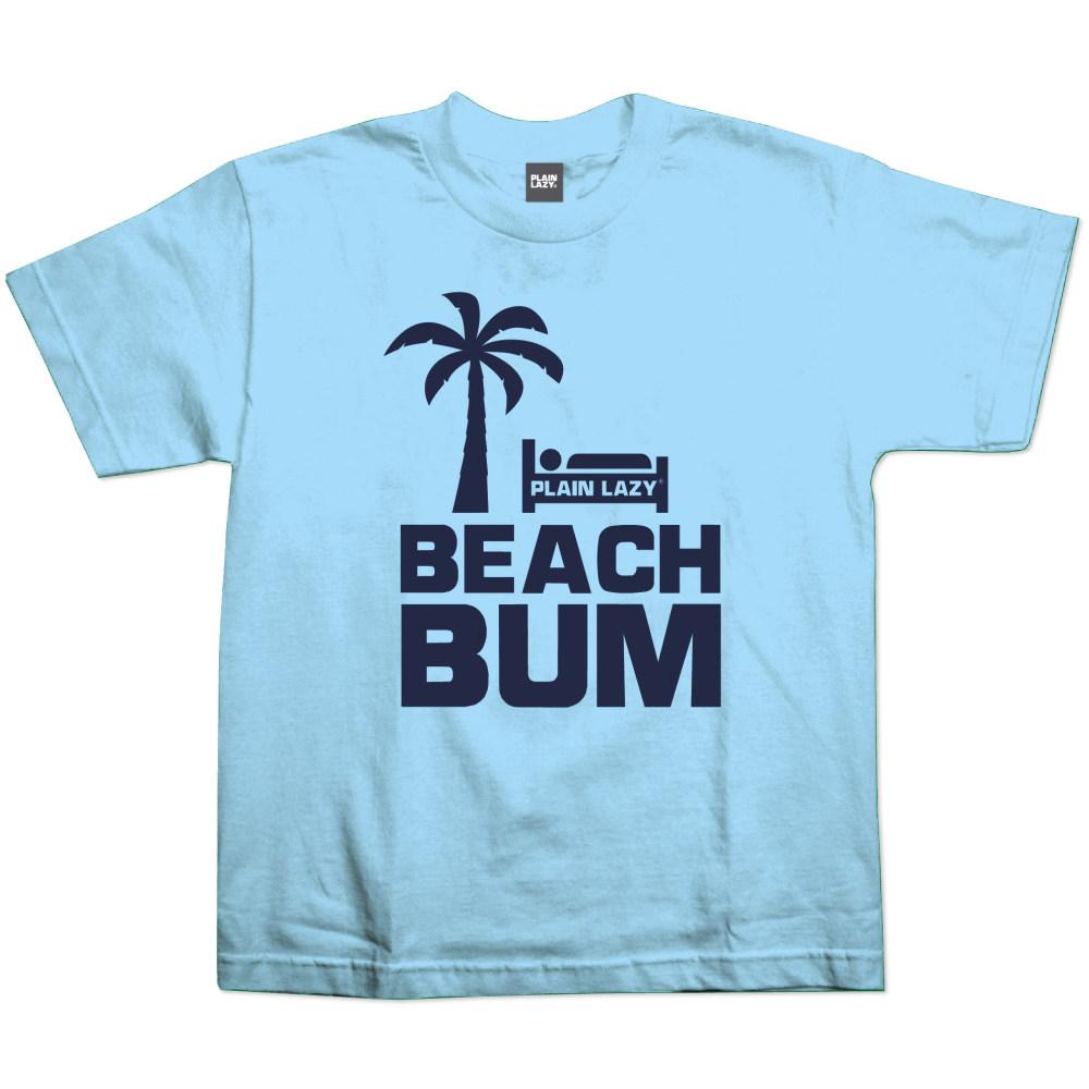 Kids Beach Bum T-Shirt (Light Blue)