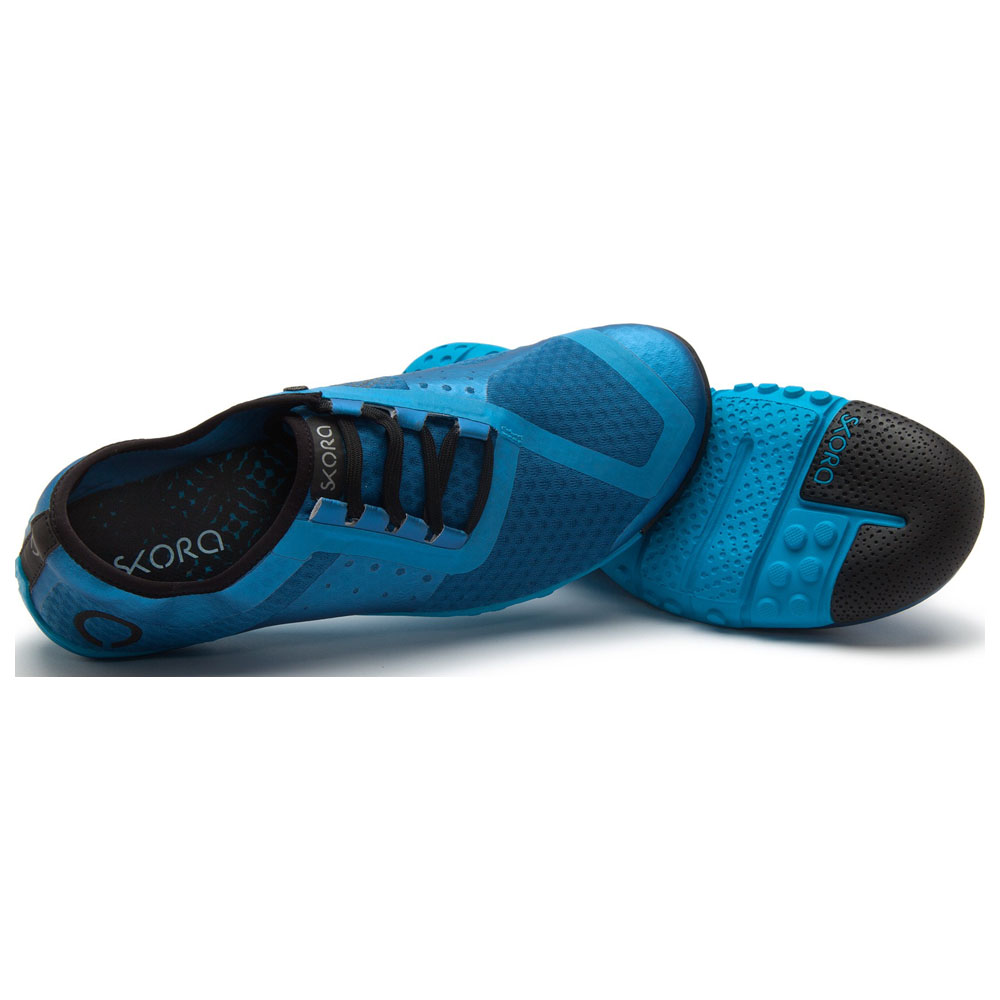 Mens Phase Shoes (Dark Blue/Blue/Cyan)