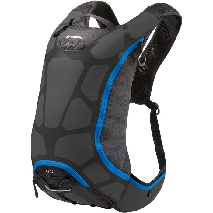 Unzen 6L Hydration Backpack (Black/Blue)