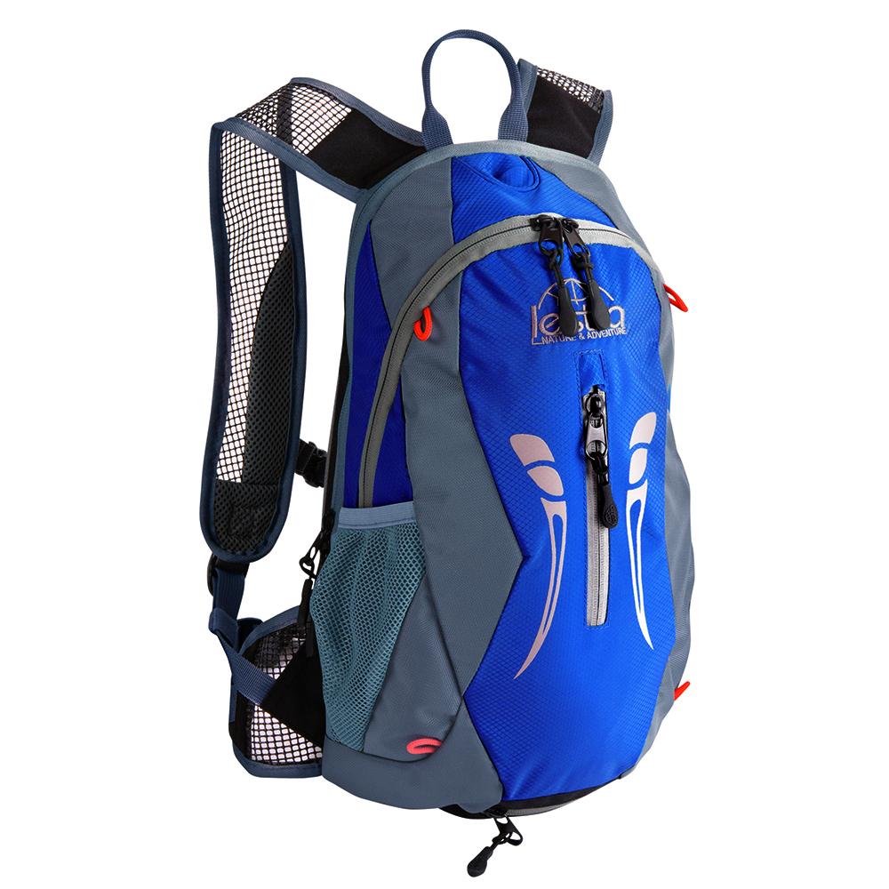 10+3L Backpack With 2l Reservoir (Grey/Blue)