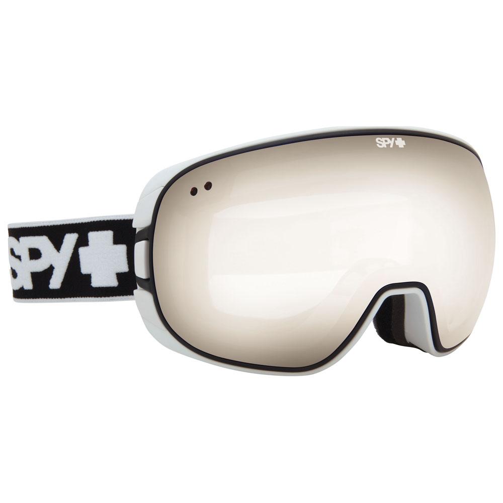 Bravo White Goggles (Bronze With Silver Mirror)