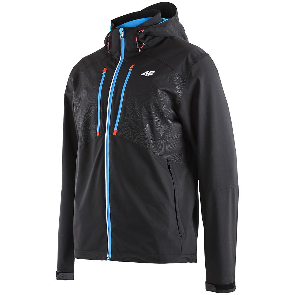 Mens Functional Hooded Jacket (Black)