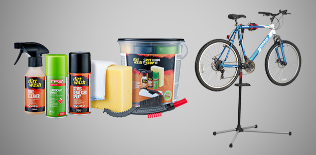 Workstands & Cleaning Kits