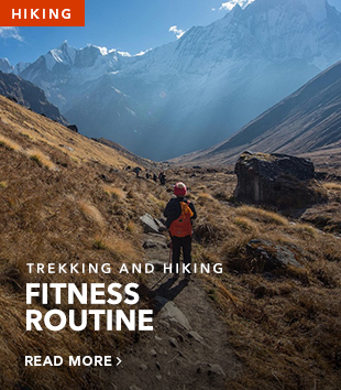 Long reads hiking fitness routine