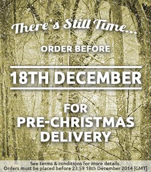 Christmas Delivery Message UK AU
