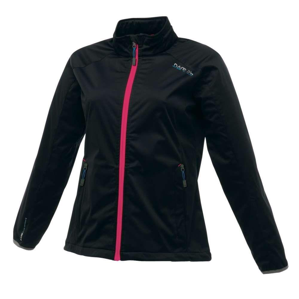 Dare 2b AQ-Lite Jacket Cycle Jacket Cycling Running Sports Black Medium