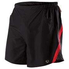 Pearl Izumi Black Red Shorts