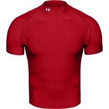 Under Armour Red Short Sleeve