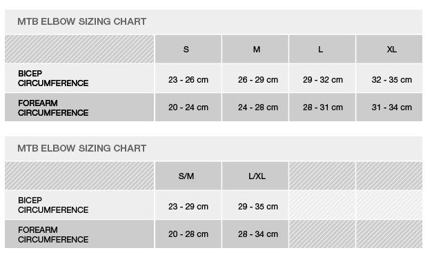 Alpinestars Size Guide