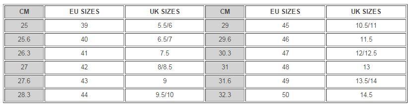 c2d12743 Ecco size guide